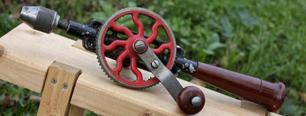 Foret mécanique manuel