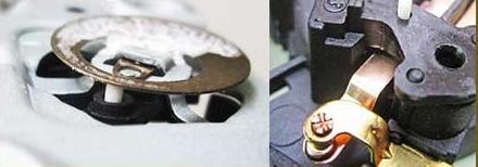 Bimetalik levha ve seramik çubuk