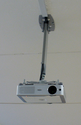 Loftbeslag til projektor