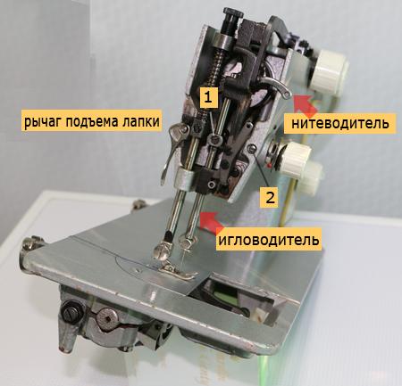Makinede iğneyi ve ipliği ayarlama Seagull
