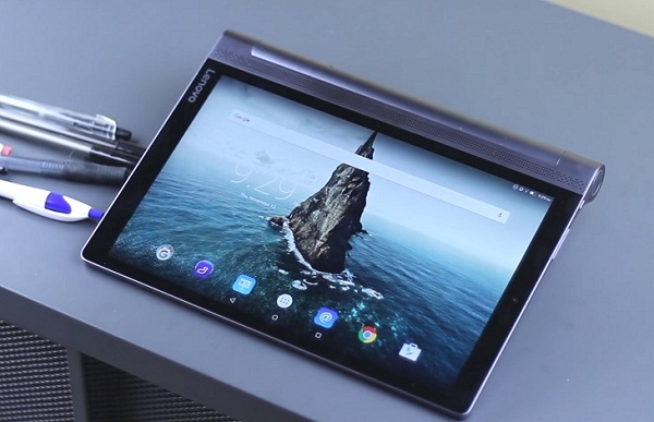 Tablet med projektor