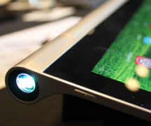 Tablet with a projector from Lenovo