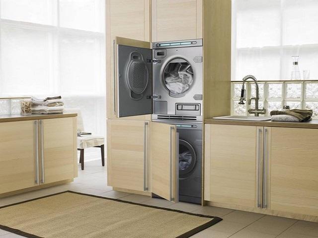 Séchage sur machine à laver