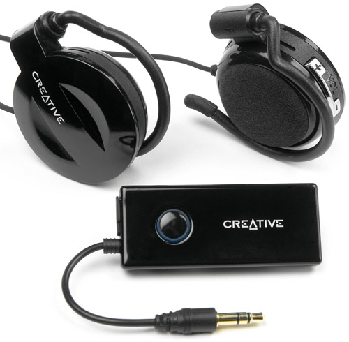 Bluetooth-headset med adapter