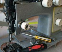 Instelling naaimachine