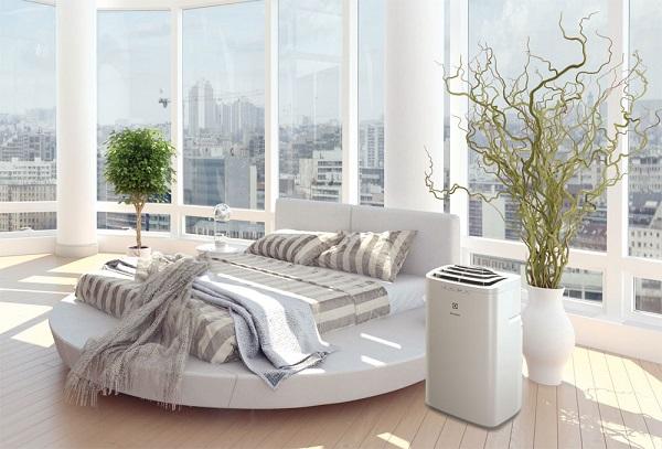 Climatisation mobile dans la chambre