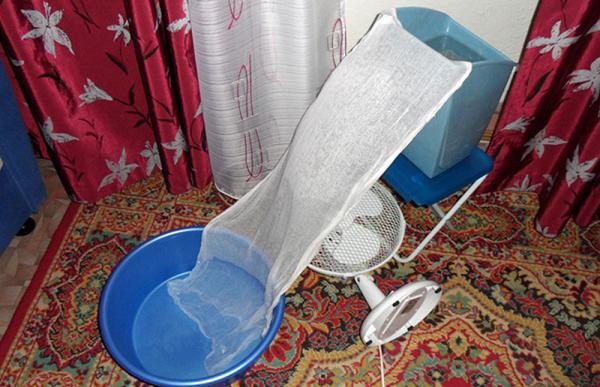 Klima gazlı bez ve su ile havzaları
