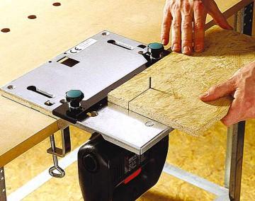Petite table pour le dérapage électrique