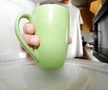 माइक्रोवेव में कप