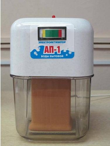 संकेतक के साथ एपी -1 पानी सक्रियक