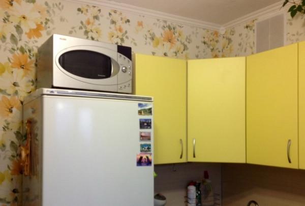 Buzdolabında mikrodalga