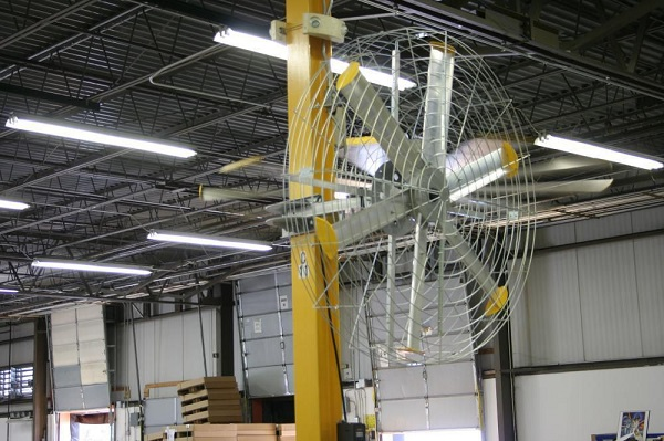 Ventilateur axial industriel