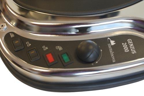 Steam button