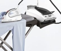 Ironing board for steam generator