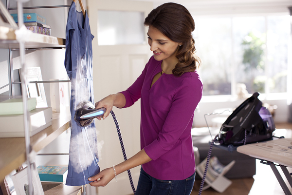 Vertical ironing
