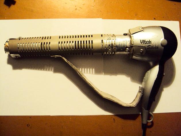 Ev yapımı bina saç kurutma makinesi