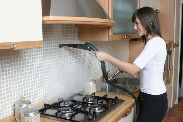 The use of a steam generator in the kitchen