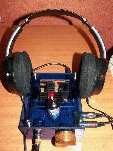 Lampetransistorforstærker