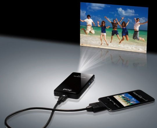Pico Projector synkronisering