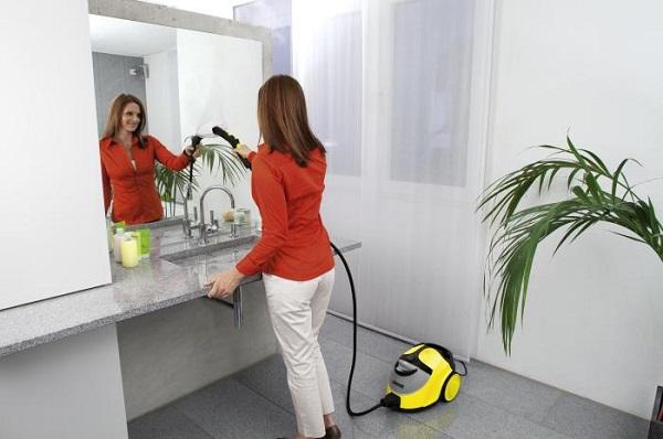 Générateur de vapeur dans la salle de bain