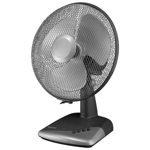 Sikkerhedsnet på ventilatoren