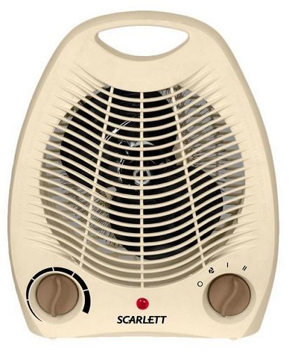 Ventilator med metalblade