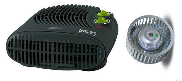 Radial impeller fan