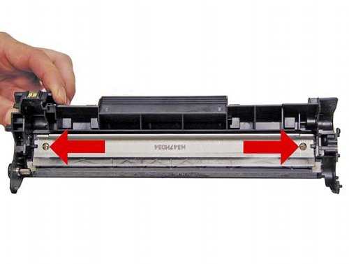 Squeegee fjernelse