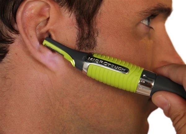 Tondeuse poils nez et oreilles