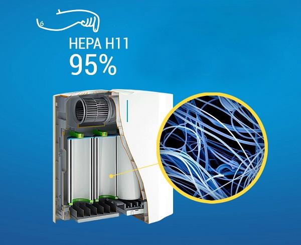 HEPA filtreli temizleyici