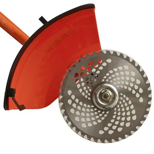Bir metal disk ile Benzokosa