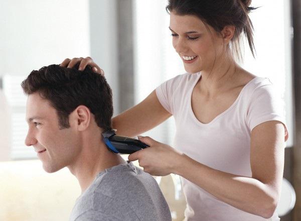 Wiederaufladbare Haarschnittmaschine