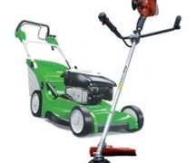 Trimmer or lawn mower