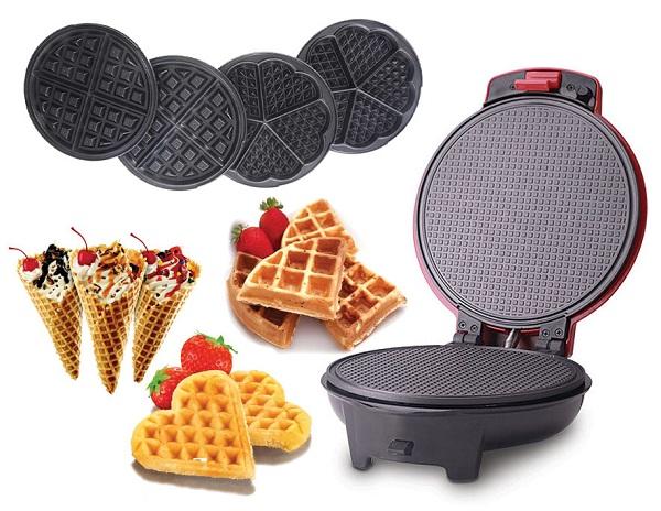 Elektrikli waffle demir
