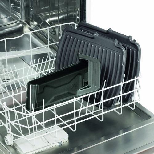 Avtakbare paneler i oppvaskmaskinen