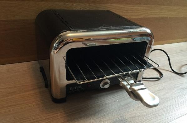 Yatay ekmek kızartma makinesi