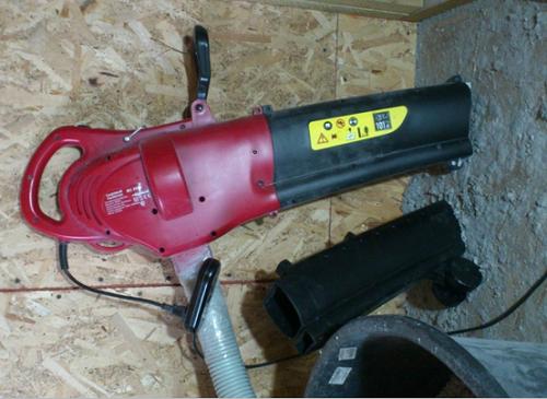 Application du ventilateur dans la construction