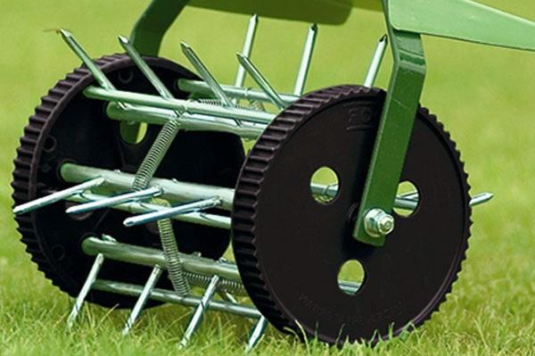Aérateur de pelouse