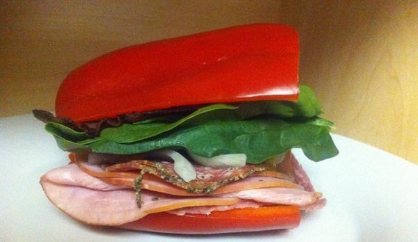 Biberli Sandviç