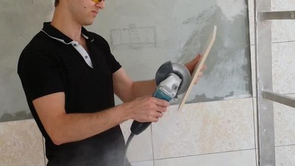 Processus de coupe de carreaux