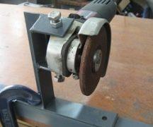 Selbstgemachtes Gerät für Schleifmaschinen
