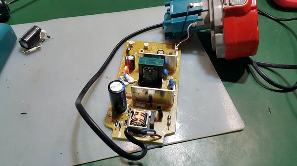 Condensateur à bord