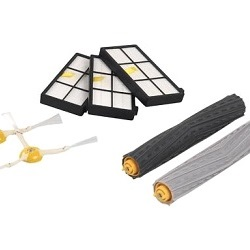 Components for robot vacuum cleaners