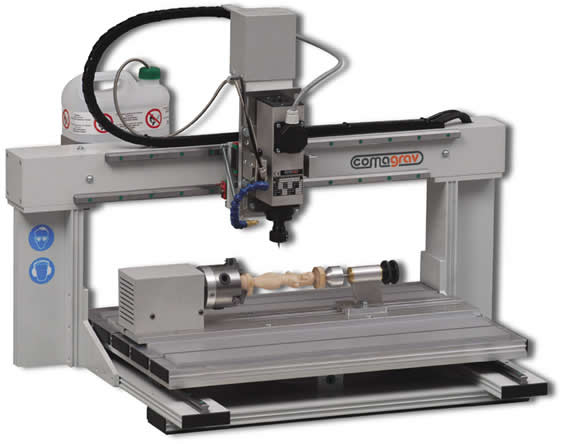 Machine de gravure 3D