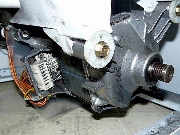 Vaskemaskin motor