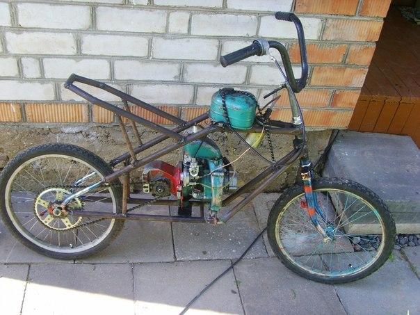 Ev yapımı bisiklet