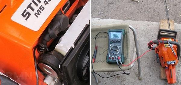 Motor ve multimetre