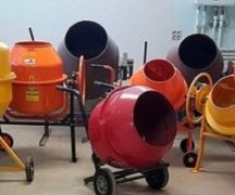 Selection of concrete mixers