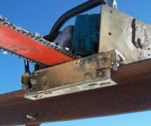 Homemade electric saw