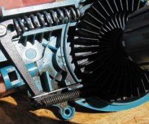 Electric saw repair